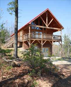 Photo for 2BR Cabin Vacation Rental in Purlear, North Carolina