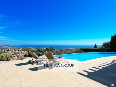 Photo for Pegeia Villa, Sleeps 8 with Pool and Air Con