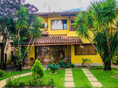 Photo for Beautiful House in secure condominium, beachfront, next to Water Park ***
