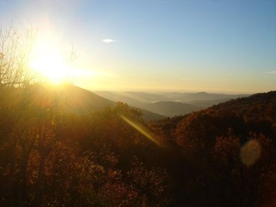 Enjoy this lovely sunrise view year round from almost every room in the house