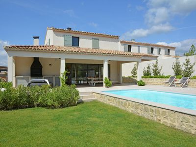 Photo for Luxury villa with private heated pool in domain in Malaucène near to the Mont Ventoux
