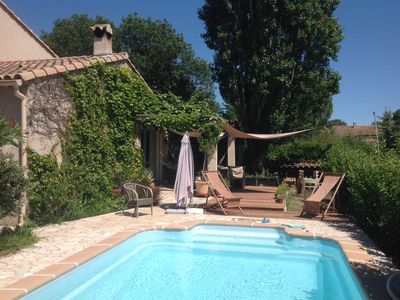 Photo for Pool house near Montpellier
