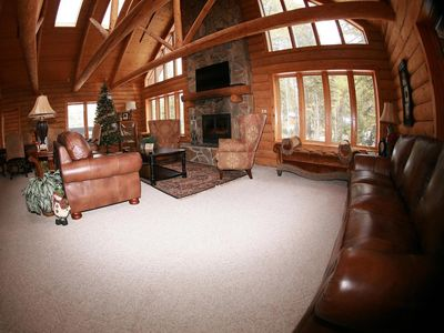 Spacious Cabin that is located by ATV Trails and Andy's Horse Trails!
