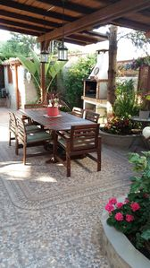 Photo for Cozy house with communal pool, in a quiet residential area and near the beach
