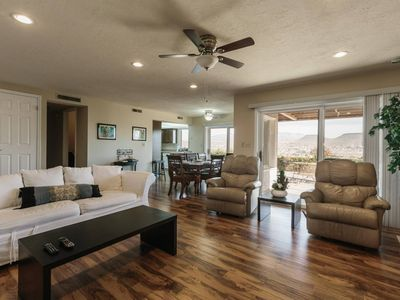 Photo for Pet Friendly | St George 3 Br. Views of Red Rocks
