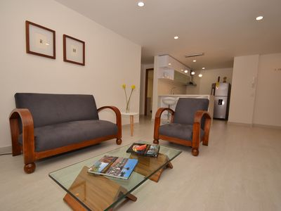 Photo for ELSA  - 2 BR.  Executive Apartment with balcony