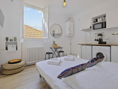Photo for Charming and modern flat near the Halles at the heart of Biarritz - Welkeys