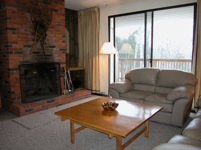 Photo for Notchbrook Condo - 3 miles to ski area, outdoor heated pool, snowshoe trails