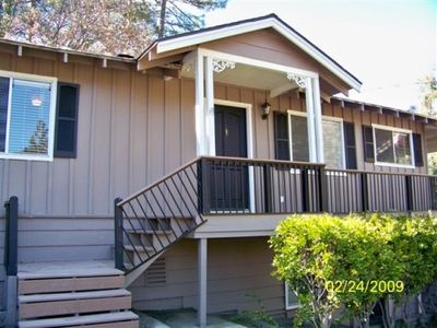 Photo for Sleeps 14 - Great Deck for Family Fun - Deers & Bird Watching!