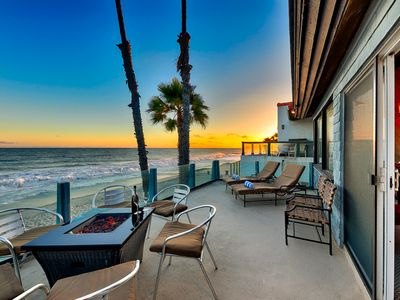 Photo for Oceanfront Beach Road Retreat, Amazing Sunsets + Location