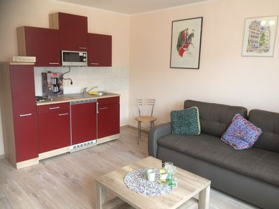 Photo for Very lovingly Newly furnished apartment with Moselle Terrace Zell Altstadt