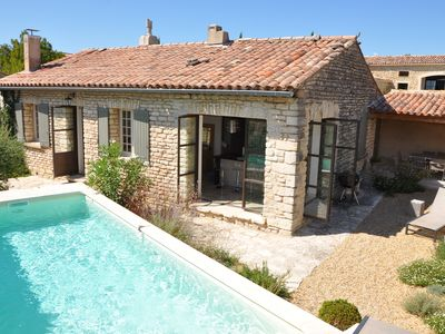 Photo for Lovely, high standard home with a private pool located in Gordes