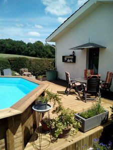 Photo for Gite with private pool
