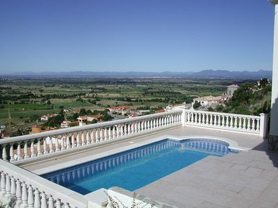 Photo for Luxury Private Villa & Pool.  Great location Wifi, UK TV, Aircon. Amazing Views