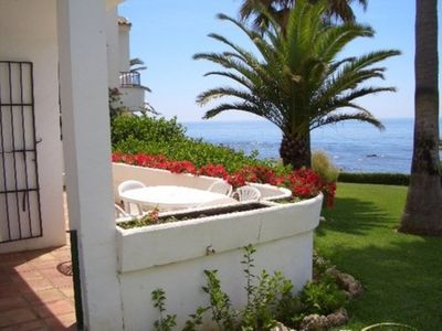 Photo for Beach Front 2 Bedroom House With Amazing Sea Views