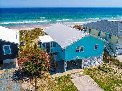 Photo for Beach Comber: 3 BR / 2 BA house in Topsail Beach, Sleeps 6 - oceanfront!