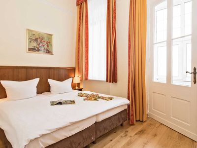 Photo for small double room with sea view - Promenadenhotel Kaiser Wilhelm
