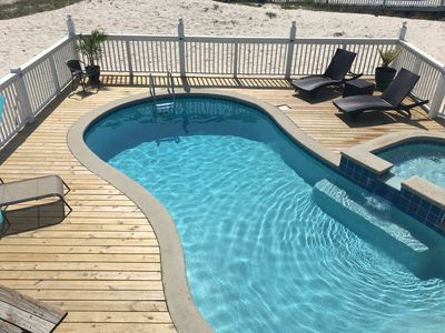 Photo for TRY SLOW;Great Views; Steps To Beach; Private Pool; 2 MST Bedrooms; Dog Friendly