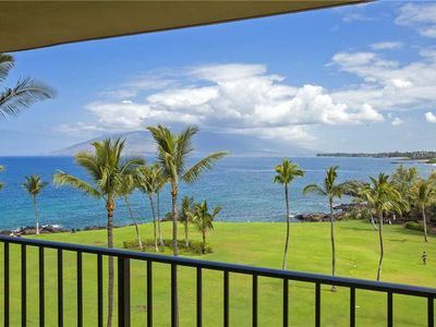 Photo for Newly furnished and decorated ocean front 1 bd condo at Kihei Surfside #613