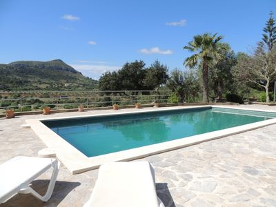 Photo for Es Puig Colomer - Beautiful Traditional Finca with Private Saltwater Pool in Idyllic Location! - Free WiFi