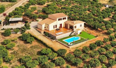 Photo for Els tarongers Majorcan villa with swimming pool and all comforts 081