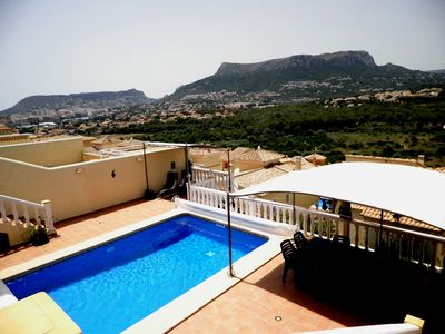 Photo for apartment (5 persons) with private pool 7x4 mtr. (40.000 ltr.) For you alone