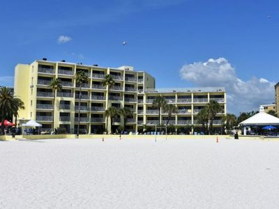 Photo for Reduced Rate! Right on the Beach! Three Gulf Front 1BR Suites for 18 Guests