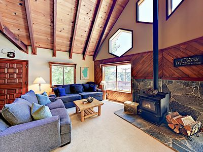 Photo for New Listing! Tahoe Retreat: Amazing Locale Near Ski Slopes, Hiking & Lake
