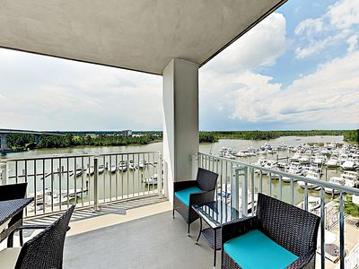 Photo for 6th-Floor Waterfront Condo w/ Pool - By TurnKey