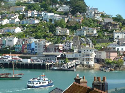Photo for DartView , Dartmouth, stunning river views, sea views,balcony, WiFi internet