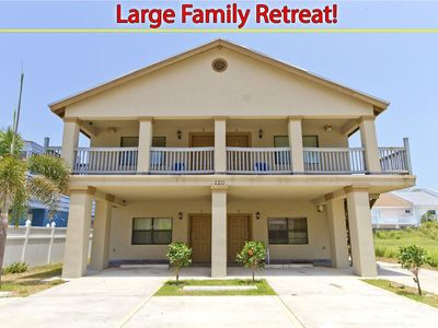 Photo for 4 Individual Condos, one Rental! Sleeps 20 with POOL! Perfect for Large Family/Friend Retreats!