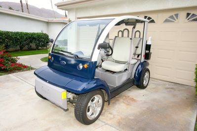 Ford Think Golfcart. Legal on both golf course and streets. Must have license.