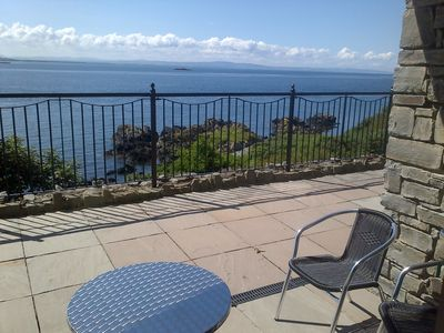 Photo for Panoramic Views across  Lough Foyle with Private Gated Terrace/Wifi/Netflix/Baby