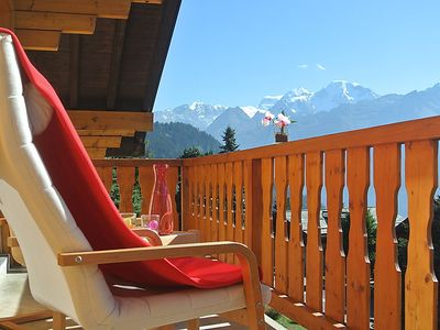 Photo for Apartment Baudrier in Verbier - 6 persons, 3 bedrooms