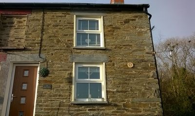 Photo for Lovely end of row character cottage with stunning views over the River Teifi