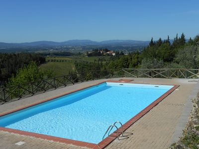 Photo for PERSEO - Authentic house with STUNNING VIEW - S. GIMIGNANO / SIENA / FIRENZE