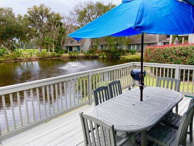 Photo for Golf and Tennis dream location! Close to beach, kayaking, dining and more!