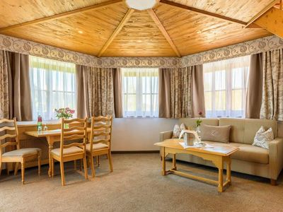 Photo for Tower suite with bath, shower, toilet - Chalet Hotel am Leitenhof