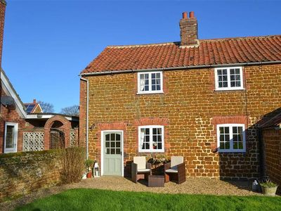 Photo for This traditional Carrstone Norfolk cottage has a bright and open plan feel