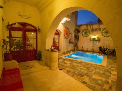 Photo for Ta' Marie a fully airconditioned villa in a quiet location in gozo