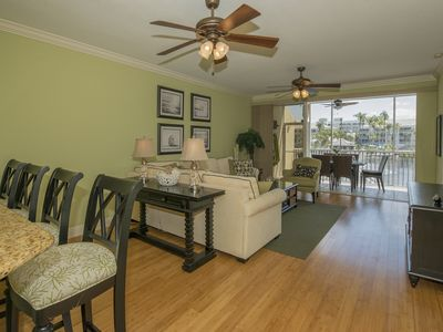 Photo for Beautiful newly renovated 3 bedroom condo in Pelican Bay with private beach club