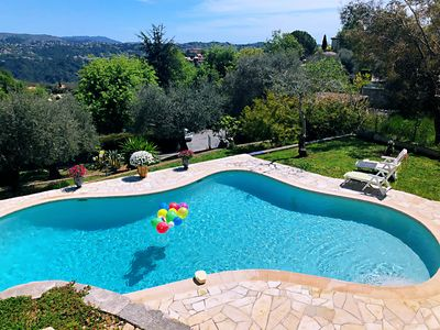 Photo for BEAUTIFUL FAMILY VILLA with AMAZING VIEWS and PRIVATE POOL in BIG  GARDENS
