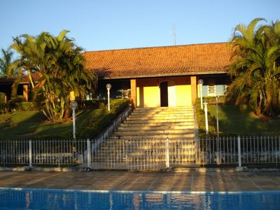 Photo for Finca Viana Ville with pool and recreation area.