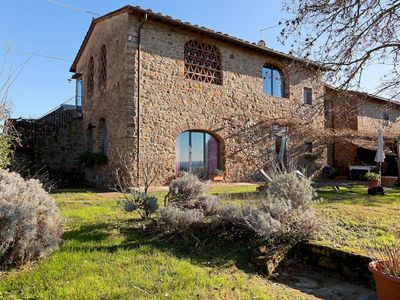 Photo for Spectacular views farmhouse near Florence among vineyards and olive groves