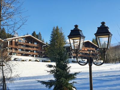 Photo for Duplex 80 m2, 2 bedrooms, 4 people in Megève Mont d'Arbois