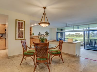 Photo for DISCOUNTED RATES  Huge 2/2 Condo on the Golf Course, Steps to the Beach