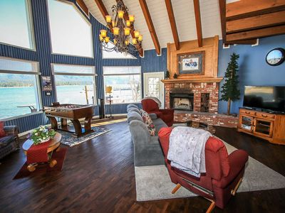 Photo for House in the center of Big Bear Lake with Parking, Internet, Washing machine, Balcony (983542)
