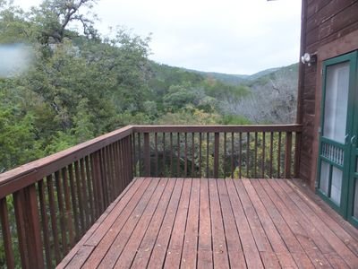 Photo for Luxury Chalet On Remote Ranch With Crystal Clear Creek, not near crowded Leakey