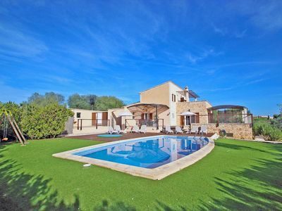 Photo for Finca Sa Punta - FAMILY HOLIDAYS - AirCond - Wi·Fi - Country house for 9 people in Portocolom