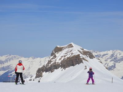 Photo for Ski Apartment With Spectacular Mountain View in Flaine